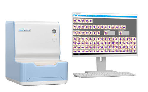 The CellaVision DC-1 Digital Cell Analyzer - Perfect Solution for smaller hematology labs